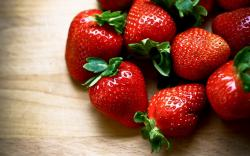 Strawberry Red Fruit Macro Wallpaper High Definition