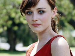 alexis bledel her stunning eyes