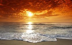Stunning Beach Sunset 28804 2560x1600 px