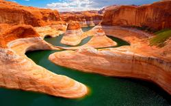 Stunning Canyon Curves HD wallpapers