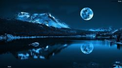 Download Beauty Night Landscape Wallpaper Full Widescreen #09143