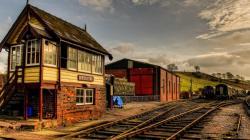 Stunning Railway Wallpaper