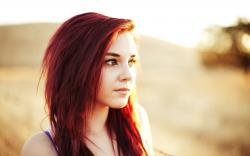 Stunning Red Hair Wallpaper