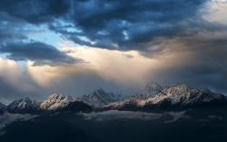 Stunning Storm Clouds Wallpaper