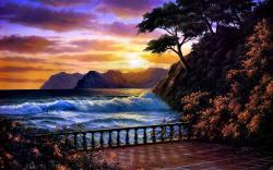 Stunning Sunset Desktop Wallpaper