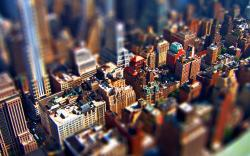 Stunning Tilt Shift Wallpaper