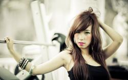 Style Portrait Asian Girl Photo