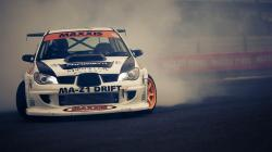 Subaru Impreza Car Drift Track