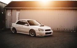Subaru Impreza STI Car Parking