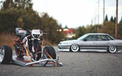 Subaru Legacy Trailer Motorcycle