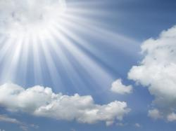 sun-rays-coming-out-of-the-clouds-in-