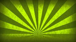 Rotating Sunbeams Green Abstract Motion Background Loop Free