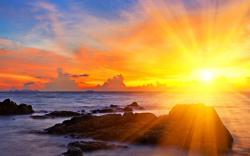 Beautiful Sunbeam Wallpaper 31312