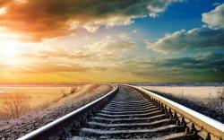 Description: The Wallpaper above is Sunrise Railroad Wallpaper in Resolution 1920x1200. Choose your Resolution and Download Sunrise Railroad Wallpaper