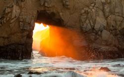 Sunrise Rock Hole