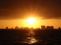 Cast Away the Day Sunset Cruise Miami is a perfect way to end the day. This evening cruise calls for sun dresses, sandals and chilled wine.
