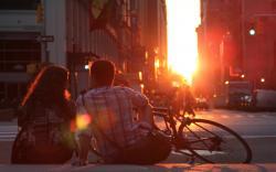 Sunset City Streets