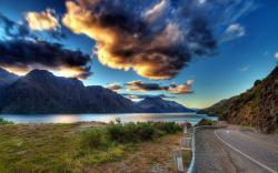 Sunset lake road