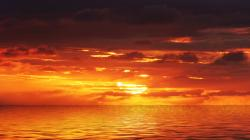 ... Orange Sunset Wallpaper-8 ...
