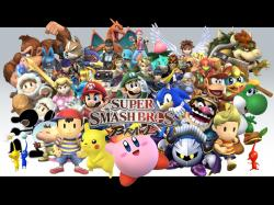 """Super Smash Bros. Brawl"" desktop wallpaper (1024 x 768 pixels)"