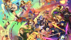 Super Smash Bros wallpaper 1920x1080
