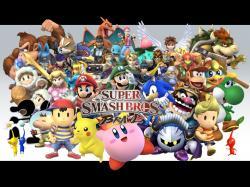 """Super Smash Bros. Brawl"" desktop wallpaper (1280 x 960 pixels)"