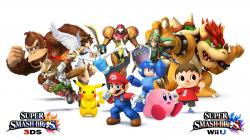 Super Smash Bros for Wii U – Wallpaper