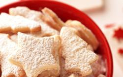Sweets Cookies Stars Christmas Trees Sugar Food