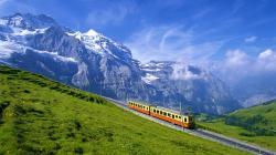 Mountains Switzerland Bernese Oberland High Resolution Wallpapers