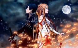... hopefully it doesn't turn out a mess),I will look to Sword Art Online as a guide for developing the plot and characters in an interesting way.