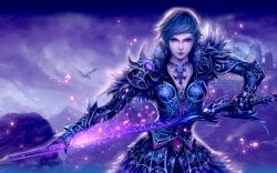 Sword Girl wallpaper