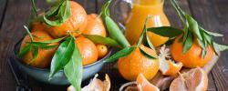 2560x1024 Wallpaper tangerines, fruit, citrus fruit, leaves, peels, cloves, juice