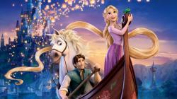 tangled movie wallpaper