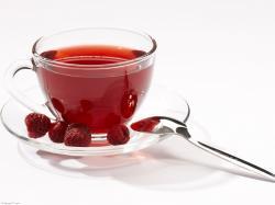 Raspberry Tea Cup