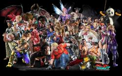 Tekken Tag Tournament 2 Roster Wallpaper