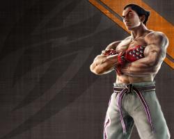 ... Tekken wallpaper Kazuya -small by nin-er
