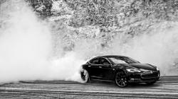 Tesla's Model S may be labeled as a performance sedan, especially in the P85 guise we drove, but, for some, it could sound silly to try to bake donuts in an ...