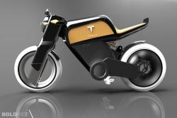2014 Tesla Motorcycle Concept by Marco De Toma 1280 x 1080