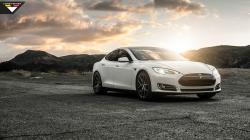 4944 views 2014 Vorsteiner Tesla Model S P85