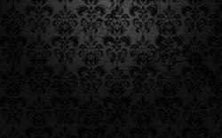 Cool Black On Damask Textured Wallpaper 1920x1200px