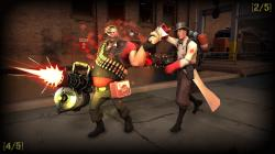 ... TF2 - SFM - Medic + Heavy 01 by The-5