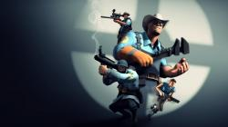 ... Team Fortress 2 Wallpaper (BLU) by Robogineer