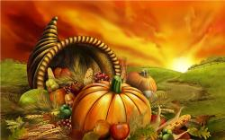 Free Thanksgiving PowerPoint Background 1