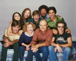 Wallpaper: Cast That 70s show TV series. Resolution: 1024x768 | 1280x1024