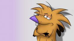 The Angry Beavers Cartoon Art