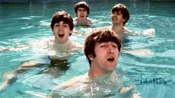 The Beatles Wallpaper Pool
