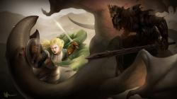 ... eowyn and the nazgul by ijur