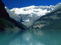Lake Louise, Canadian Rockies desktop wallpaper