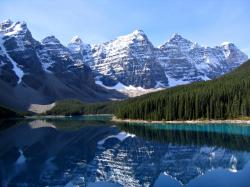 Moraine Lake, and the Valley of the Ten Peaks, Banff National Park, Alberta, Canada