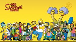 The Simpsons Game Cartoon